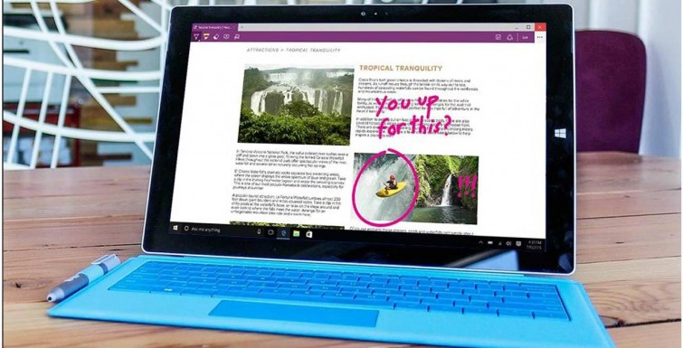Principais recursos do Microsoft Edge, o novo navegador do Windows 10