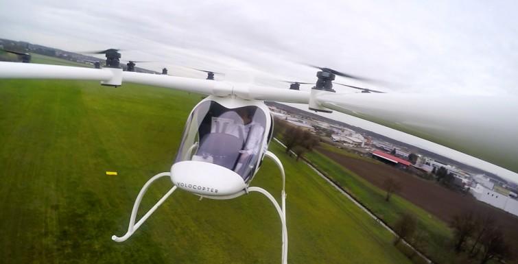 Volocopter: o drone capaz de carregar pessoas